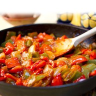 Овощное рагу в кисло-сладком соусе(ланч) Фото