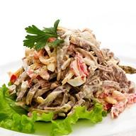 Говядина с грецким орехом салат (ланч) Фото