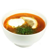 Солянка мясная со сметаной (ланч) Фото
