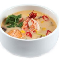 Том ям с креветкой суп Фото
