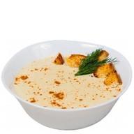 Суп из лосося с белым вином Фото