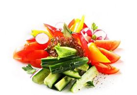 Микс из свежих овощей - Фото