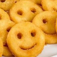 Картофельные рожицы + соус Фото