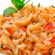 Кальмары с рисом Фото