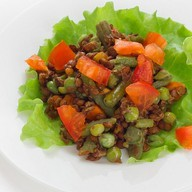 Чечевица с овощами Фото