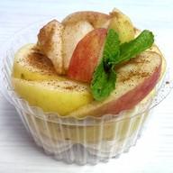 Десерт фруктовый Зимний вечер Фото