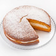 Пирог морковный Фото