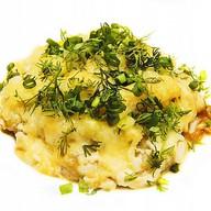 Картофель с курочкой по-французски Фото