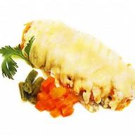Кета запеченная с овощами Фото