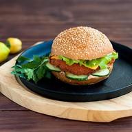 Цыпленок BBQ бургер Фото