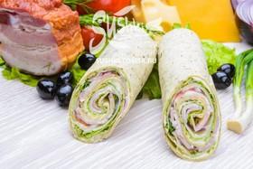 Сендвич-ролл с беконом - Фото