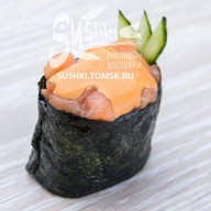 Суши спайси сяке Фото