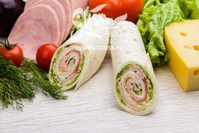Сендвич-ролл с ветчиной - Фото