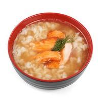 Суп лососевый Фото