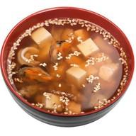 Суп Мисо с морепродуктами Фото