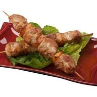 Шашлык из курицы в соусе терияки Фото
