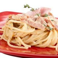 "Спагетти под соусом ""Карбонара"" Фото"