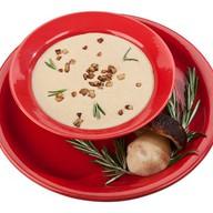 Суп-пюре с белыми грибами Фото