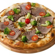 Пицца с языком Фото