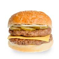 Двойной хитбургер Фото