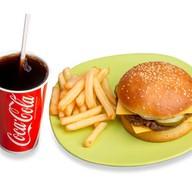 Комбо Митбургер Фото