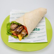 Колбаски в лаваше Фото