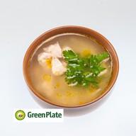 Суп лапша с курицей Фото