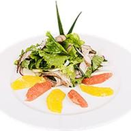 Салат с индейкой с цитрусами Фото