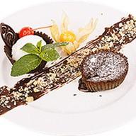 Шоколадный фондан Фото