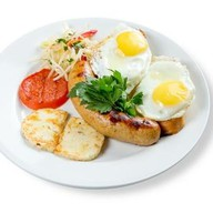 Канадский завтрак Фото