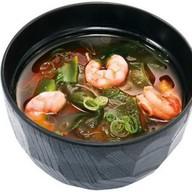 Мисо-суп с креветкой Фото
