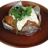 Картофель в мундире запеченный в фольге Фото