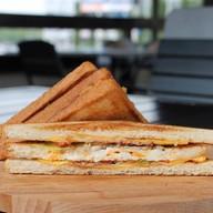 Сандвич с яйцом Фото