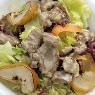 Салат с куриной печенью Фото