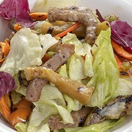 Салат с подкопченной говяжьей Фото