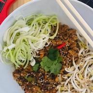 Рис по-тайски с соусом терияки Фото