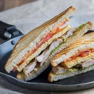 Сэндвич с цыпленком Фото