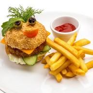 Бургер - смайл Фото