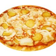 Пицца чикен BBQ Фото