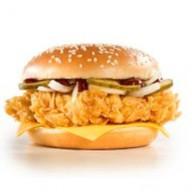Чизбургер техасский BBQ Фото