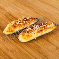 Мидии запечённые под сырным соусо Фото