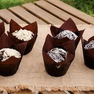 Маффин с шоколадной начинкой Фото