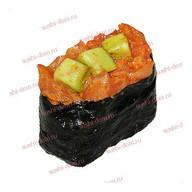 Острый лосось с авокадо Фото