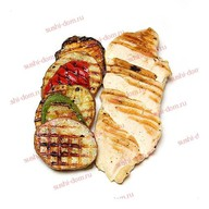 Цыпленок по мексикански с овощами Фото