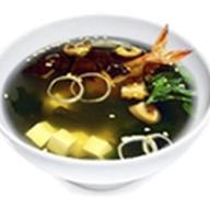 Мисо суп гедза с креветкой Фото