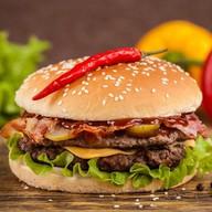 Супер бургер Фото