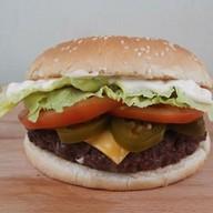Хот бургер Фото