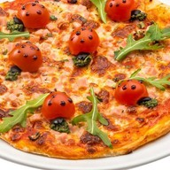 """Пицца """"Божья коровка"""" Фото"""