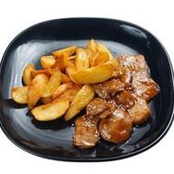 Свинина по-японски с картофелем Фото