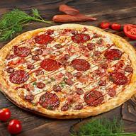 Барбекю пицца Фото